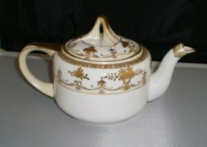 Vintage Noritake Hand-Painted & Gilded Teapot, made in Japan, beautiful