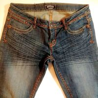 Pepe Jeans London Womens Sz 30W Lo Rise Slim Fit Straight Leg Denim Jeans  Nice!