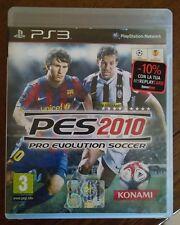 pro evolution soccer 2010 ps3 konami