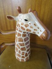 More details for beautiful quail ceramic large size giraffe flower vase  boxed ideal gift