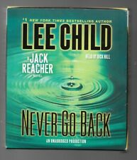 Never Go Back by Lee Child audio book on 11 cds unabridged