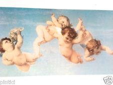 ANGELO IMMAGINE da parete 50x40 stampa artistica su MDF PIASTRA FOTO BABY
