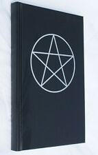 Book of Shadows by Green Magic Small A5 Journal Black Imitation Leather Embossed