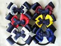Jemlana's handmade school hair tie for girls(can be change to other colours)...