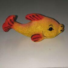 XX604 * Gold Fish Wagner Kunstlerschutz Animal Toy Vintage German 1980