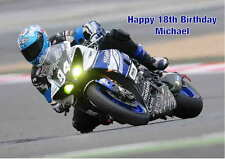 Personalised Motorbike Birthday Card