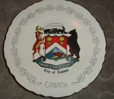 COLLECTIBLE PLATE FROM CANADA 22 K GOLD PLATE SAYS LABORE ET PERSEVERANTIA*