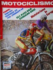 Motociclismo n°6 1977 Test TGM 125 - Yamaha XS750 - Zundapp 50 [SC.63]