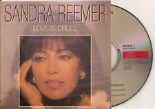 SANDRA REEMER - love is cruel CD SINGLE 2TR CARD 1992