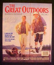 1988 The Great Outdoors Movie~Dan Aykroyd~John Candy~Cartoon Art Trade AD