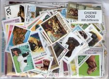 CHIENS 500 timbres différents