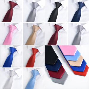 Necktie Men's Tie Formal Casual Narrow Party Wedding Men Accessories 10 Colors