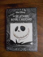 Disney Tim Burton's NIGHTMARE BEFORE CHRISTMAS DVD Collectors Edition