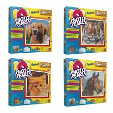 Photo Pearls. Animals Craft Set by Goliath. Children's Home Art Activity Age 7+