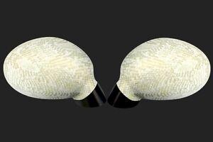 Spiegel Cover Watergreen snake Spiegelhülle Abdeckung Kappe Außenspiegel Überzug