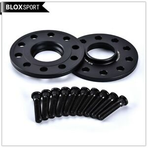 2x10mm 5x114.3 hubcentric wheel spacer for Nissan 350z 300zx 370z G37 with studs