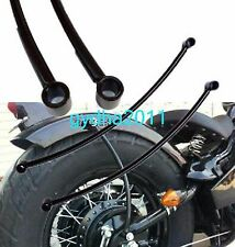 Universal Motorcycle Back Rear Mudguard Fender Support Bar For Harley Honda
