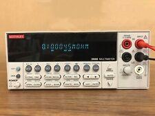 Keithley 2000 6 12 Digital Multimeter By Ems Or Dhl 90days Warranty H660g Dx