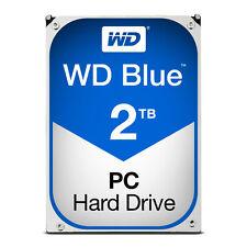 """Western Digital 2TB WD 3.5"""" Blue Hard Disk Drive/HDD,SATA III-6Gb/s,5400rpm"""