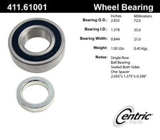 Axle Shaft Bearing-Front Disc Rear Centric 411.61001E