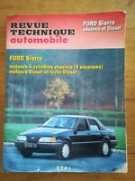REVUE TECHNIQUE AUTOMOBILE FORD SIERRA