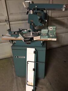 """Dewalt 12"""" Radial Arm SawWith Original Tool Cabinet"""