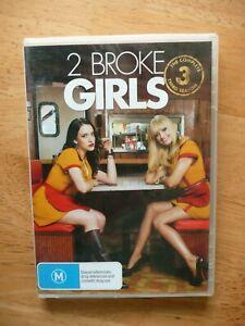 2 BROKE GIRLS SEASON 3 DVD NEW/SEALED REGION 4 PAL AUS