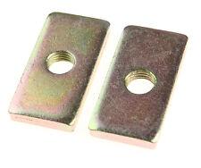 2 x Seat Belt Eye Bolt Backing Plate Strengthener Spreader