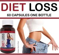 DIET LOSS safe herbal weight loss pills that help you burn off fat fast 1 BOTTLE