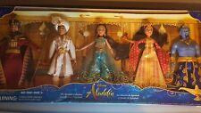 NIB HASBRO DISNEY ALADDIN AGRABAH COLLECTION 5 Fashion dolls