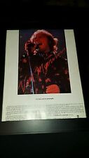 Van Morrison It's Too Late To Stop Now Rare Original Promo Poster Ad Framed!