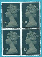 Reino Unido De 1985 Perfecto Estado Bloque de Cuatro MiNr.1043 - Reina Elizabeth