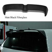 Matt Black Rear Roof Spoiler Wing Top Lip Fit for VW GOLF7 MK7 VII 7 GTI R 14-17