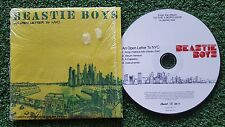 BEASTIE BOYS **An Open Letter To NYC**  RARE 4-TRACK PROMO CD Single 2004