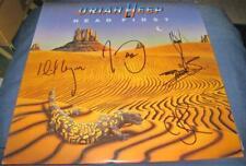 Uriah Heep Head First Mick Phil Bernie Davey Hard Rock Auto VINYL LP © 1983 wCOA