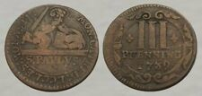 ☆ Awesome ! ☆ 1739 Colonial Era Coin ☆ Nice Details !