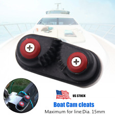 1PCS Boat Ball Bearing Cam Cleat Suit for Boat Sailboat Kayak For 15mm Dia. Line