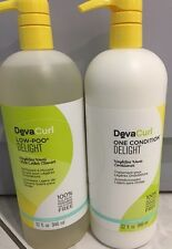 Deva  Curl DELIGHT Low-Poo Cleanser + One Condition Duo  32 fl. oz. EACH