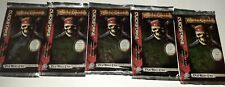 Pirates of the Caribbean Dead Man's Chest Booster 5 Pack's NEW Trading Card Game