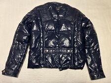 Women D&G(Dolce & Gabbana) Puffer Jacket Size Médium. Blue.