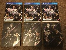 Dissidia Final Fantasy NT Steelbook Brawler Edition set of 3 Steel Book Only