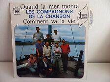 COMPAGNONS DE LA CHANSON Quand la mer monte CBS 3998