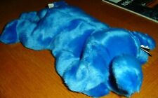 VINTAGE  Peanut the Royal Blue Elephant TY Plush Beanie Baby Buddy VERY RARE