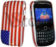 Housse De Couverture drapeau USA America Pour BlackBerry 8520 8530 Curve