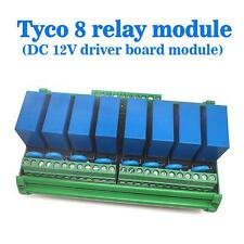 (USA) OEG 8-Channel Relay Socket Eight Panels Driver Boards DC 12V PNP