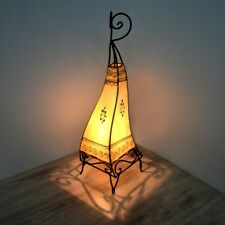 Orientalische Hennalampe Stehleuchte Orient Lampe Marokko Lederlampe LSC_N H63