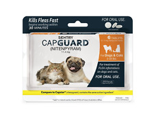 Small Dog Flea Control Medication Oral Killer Infestation Treatment Pill Cat Pet