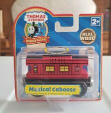 NEW Thomas & Friends Wooden Railway Musical Caboose 2007 Learning Curve