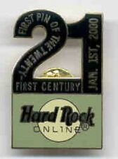 """Hard Rock Cafe ONLINE 2000 MILLENNIUM """"FIRST PIN OF THE 21ST CENTURY"""" HRC #2831"""