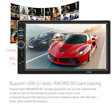 7 Inch 1080P DOUBLE 2DIN Car MP5 Player BT Tou+ch Screen Stereo Radio HD US.